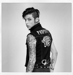 Black Veil Brides    Andy BVB Prophet