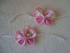 borboletas para puxadores de porta, maçanetas ou decoração confeccionadas em tecido e feltro com fita de cetim para amarrar  temos outras cores e tamanho  solicite seu orçamento apconrado@gmail.com (11) 9990-1600 R$ 1,60