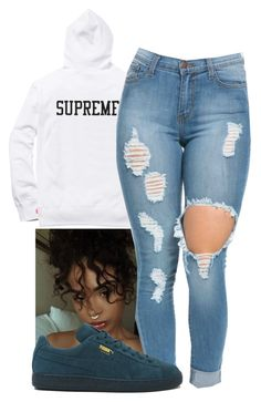 """Bad Boy~ Toni Romiti"" by melaninaire on Polyvore featuring Puma"