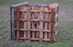 DIY Compost Bin made from pallets