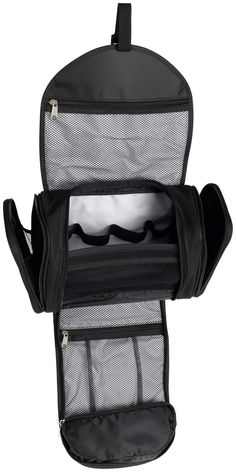 Travelon Hanging Toiletry Kit, Black, One Size