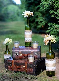 Vineyard Wedding Decor by Country Girl Collections