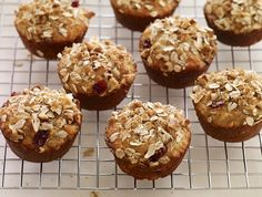 Cranberry Orange Oat Muffin Recipe - Above & Beyond - seems simple, not too many unusual ingredients, and uses dried cranberries