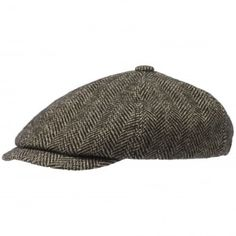 Stetson hats available from Stuarts London. Click and view all out latest Stetson caps online. Caps Hats, Men's Hats, Panel Hat, Western Hats, Newsboy Cap, Flat Cap, Herringbone Pattern, Hats For Men, Flats