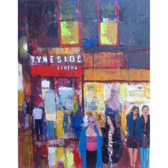 Tynside Cinemaby Anthony Marshall signed limited edition print