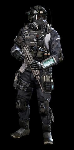 Call of Duty Ghosts | Jake L Rowell - Artist