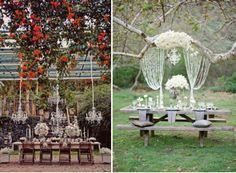 {Wedding Trends} : Hanging Wedding Decor � Part 2  via Belle The Magazine