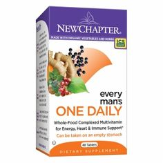 New Chapter Every Man's One Daily Multi #Vitamin #Tablets: Dietary #Supplement Made With Organic Vegetables