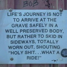 Life sure is a Journey!