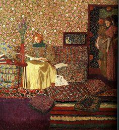 Édouard Vuillard (1868-1940).