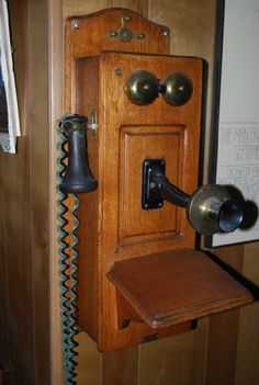 Net Antique Telephone Phone Old Vintage Walls