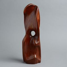 A Mid-20th Century Modern British Teak Sculpture