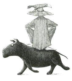 Paris Review - The Admonitory Hippopotamus: or, Angelica and Sneezby, Edward Gorey