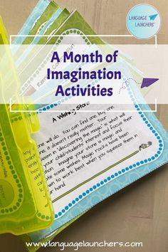 What better way to inspire language development with 3-6 year old children than stirring up some imagination? Here's a deck full of inspiration for imaginative fun with your child or student. Hearing Impairment, English Language Learners, Language Development, Language Activities, Conversation Starters, Speech And Language, Small Groups, Imagination, Deck