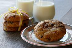 Μαλακα cookies με κομματακια σοκολατας Cookies, Muffin, Breakfast, Food, Crack Crackers, Morning Coffee, Biscuits, Cookie Recipes, Muffins