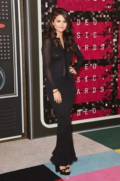 Selena Gomez in Balmain // See our top 22 best dressed celebs on the MTV VMAs 2015 red carpet