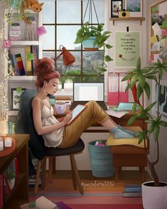 Disney Art Science Experiments For Preschoolers Preschool Science Girly M Study Rooms Drake Drawing Calming Apartment Living Cute D Disney Art Scienc. Disney Kunst, Disney Art, Drake Drawing, Girly M, Anime Art Girl, Cute Illustration, Aesthetic Art, Cartoon Art, Cute Drawings