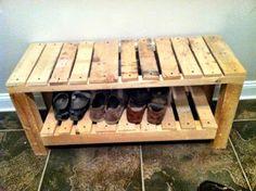 Scrap wood bench