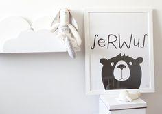 """Plakat dla dzieci """"SERWUS"""" - Gumberry"""