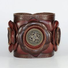 DIY Leather Cuffs