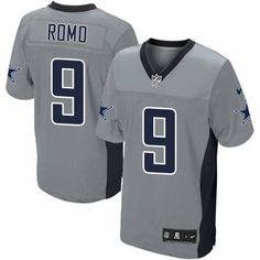 NFL Mens Elite Nike Dallas Cowboys  9 Tony Romo Shadow Grey Jersey  129.99  Indianapolis Colts 99d7fdde2