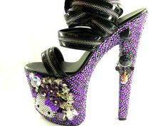 Crystallized Hello Kitty High Heels - Sandals - Candy: Love it by ...