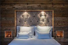 Kitz Boutique Chalet - Exklusives Ferien Chalet bei Kitzbühel Chalet Style, Hotels, Inside Outside, Boutique, Comforters, Bed Pillows, Pillow Cases, Blanket, Bedroom