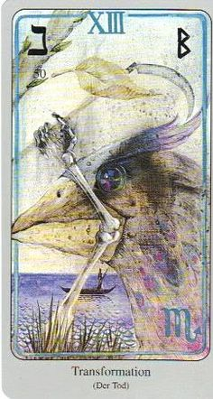 This is the Death card from the Haindl Tarot