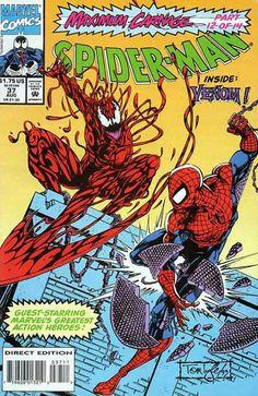 Spider-Man (Marvel Comics, 1990) #37 - Maximum Carnage