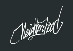 XEVA - Neigborhood #tagging #typography