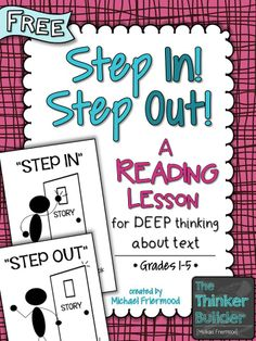 """Check out my blog post about """"Step In! Step Out!"""" and pick up this FREEBIE!"""