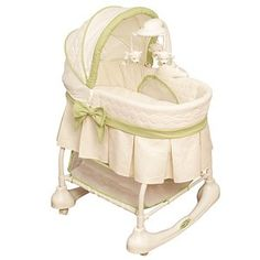 Bassinets have gone from just traditional to more complex - mobiles and sleepers or changing table or rocker. Moses Basket, Girl Nursery, Babies Nursery, Nursery Ideas, Modern Curtains, Babies R Us, Modern Kids, Kids Room Design, Everything Baby