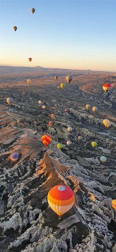 Hot air ballooning taken on S10 Cappadocia Turkey ... iPhone 11 Wallpapers
