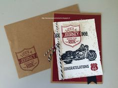 Life's a journey, enjoy the ride! - Stampin' Up! (One Wilde Ride stamp set)