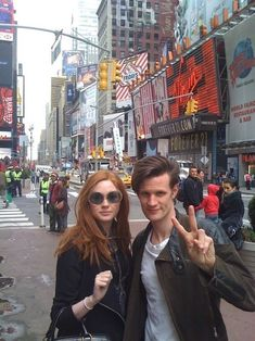Matt and Karen - Karen Gillan and Matt Smith Photo (25780011) - Fanpop