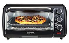 Chefman, Countertop Convection Oven, X-Large, Black * You can get additional details at the image link. #OvensampToasters