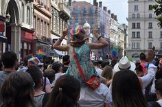 Gay Pride, Lyon, France