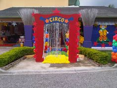 decoracion circo - Buscar con Google