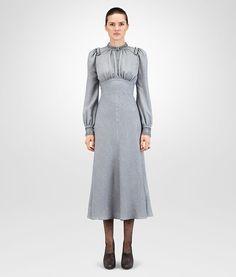 8ff2a0919 BOTTEGA VENETA ICE BLUE SILK LUREX DRESS Dress D fp Bottega Veneta, Cool  Style,