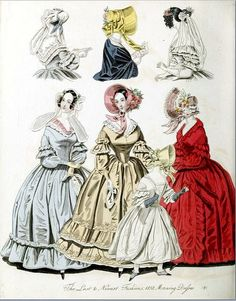 The World of Fashion and Continental Feuilletons 1838 Plate 49