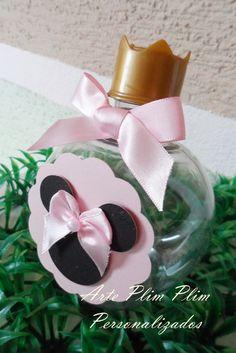 Garrafinha Personalizada - Minnie