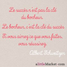 Une citation d'Albert Schweitzer
