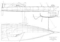 america's cup yacht design lines sail plans volvo vendée globe oracle prada TNZ taglang chevalier Runa rønne wally vuitton cup classic yachting