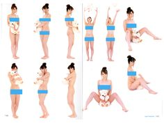 Super Pose Book - Variety Nude Plus Poses Reference Book Vol. 14 - Anime Books