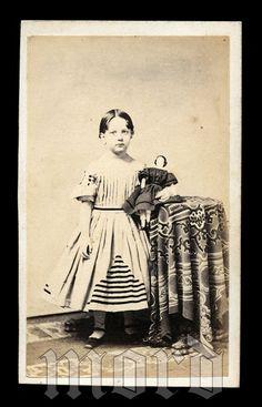 Items Similar To Civil War Era Antique CDV Photo
