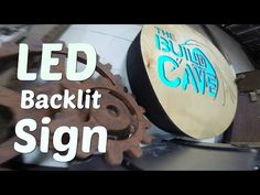 City Neon - Channel Letters: Building Channel Letters. - YouTube