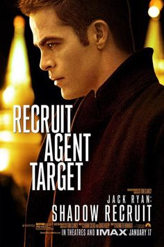"""Chris Pine As Jack Ryan 