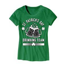 Womens St Patricks Day Drinking Team Shirt