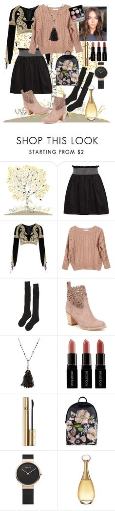 """""""Autumn"""" by griselvega420 ❤ liked on Polyvore featuring Miu Miu, For Love & Lemons, Ryan Roche, Samantha Holmes, Bavna, Smashbox, Dolce&Gabbana, Ted Baker and Christian Dior"""