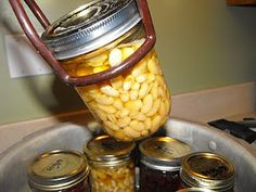 canning beans without soaking-- less than 1/2 a cent per oz.